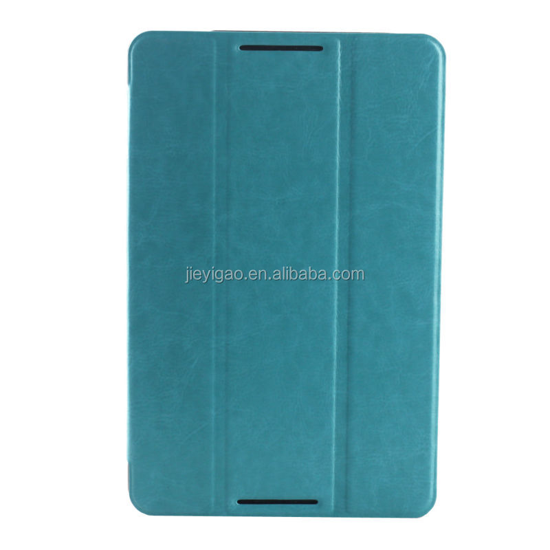 2014 New Fashion Ultrathin Cool Style Flip Stand Pu Leather Case Cover For Lenovo A5500 Tablet PC