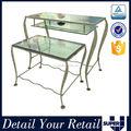 Moderna de la buena calidad de mesa de anidación vidrio mesas