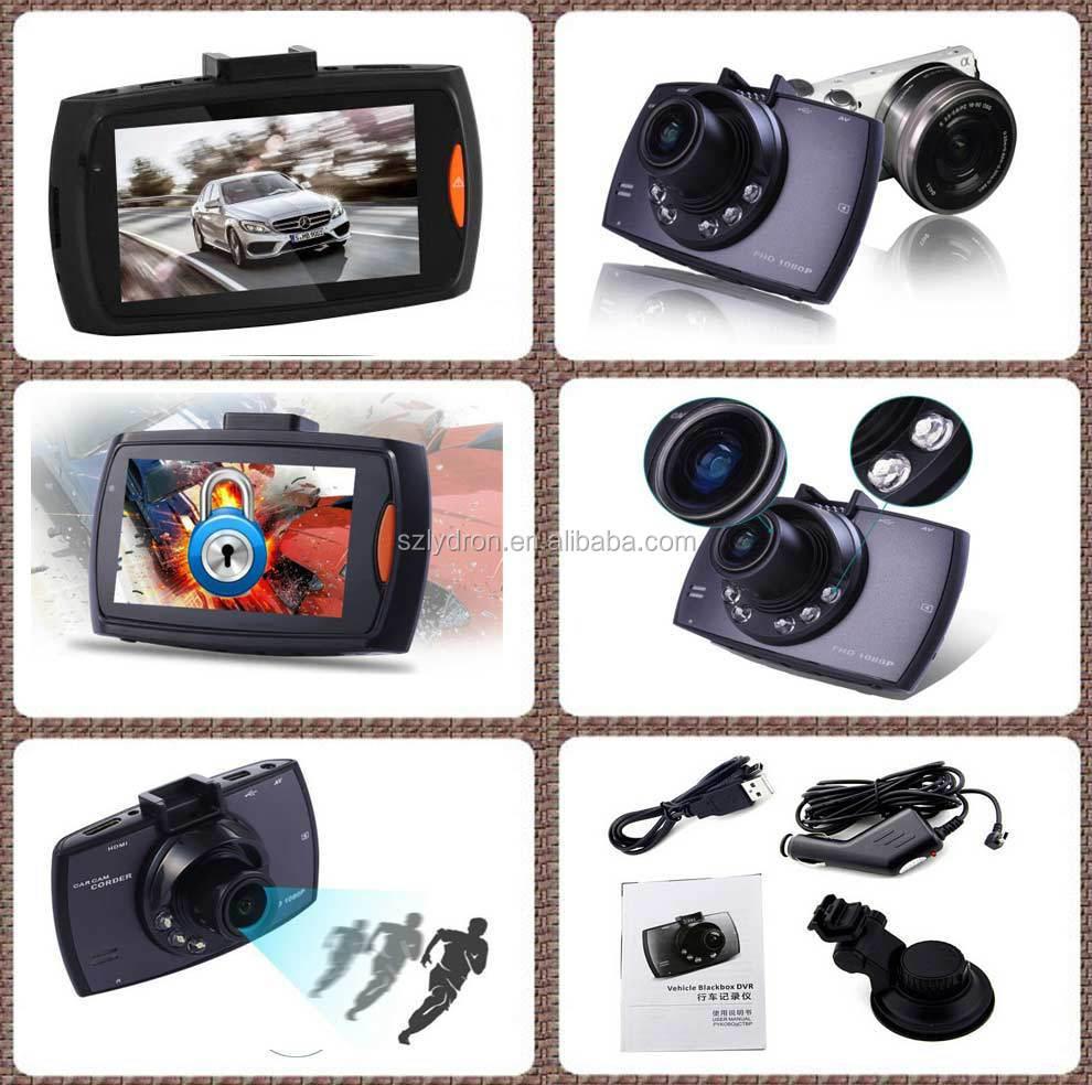 G30 IR LED Night vision 720 P voiture caméra DVR enregistreur