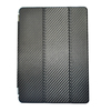 Anti-shock three folds case for ipad air, carbon fiber pattern case for ipad