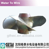 Kaplan(Tubular/Bulb) water turbine runner(wheel) from China for hydropower/Hydroelectriciy
