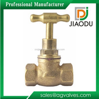 made in china best sale competitive price 15mm npt forged two way cw617n brass T head stop cock for water