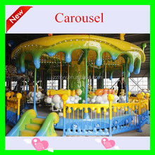 2015 China high quality used merry go rounds for sale