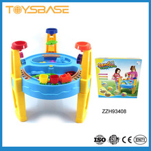 Outdoor plastic playsets sand and water table