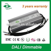 constant voltage dimmable driver 100w 200w waterproof dali led driver