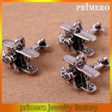 PRIMERO New Creative Airplane Aviation Classic Aircraft Style Metal Pendant key chain Gift Bag Pendant