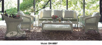 Outdoor classic used wicker furniture for sale /Patio furniture (DH-9897)