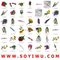 InStock Clearance & FreeSamples & YIWU CHENCHEN FLOWER FACTORY from Yiwu Market for ARTIFICIAL FLOWER & FRUIT