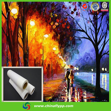 wholesale waterproof canvas fabric oil printing materials