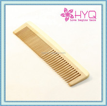 Promotion Gift Comb Head Massager Flat Long Hand Holder Wood Comb HYQ1067