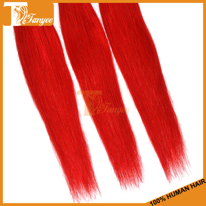 Dying Remy Hair Red 37