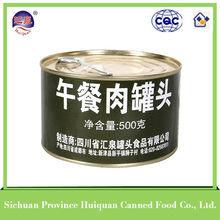China Wholesale Custom round canned pork luncheon meat