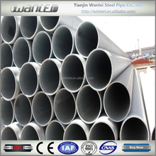 hot rolled galvanized pipe 24 inch steel pipe
