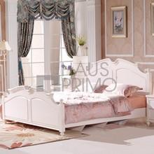 Diseño moderno de madera muebles para el hogar / 5 unids blanca King Size juegos de dormitorio muebles