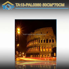 ta13-pal0380 New Product Oval Canvas with LED Light