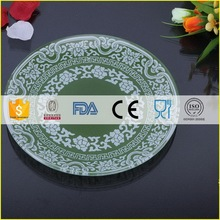 Designer professional stoneware dishes and glass plates sets