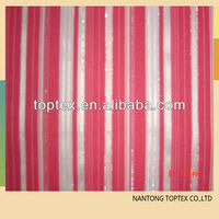 40S COTTON YARN DYED STRIPE DOBBY STRETCH FABRIC FOR SPRING AND FALL CLOTHES
