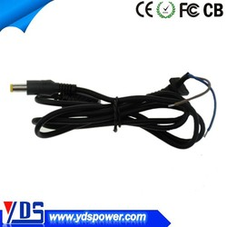 mobile phone accessories factory in china dc cable 5.5*2.5mm power cable