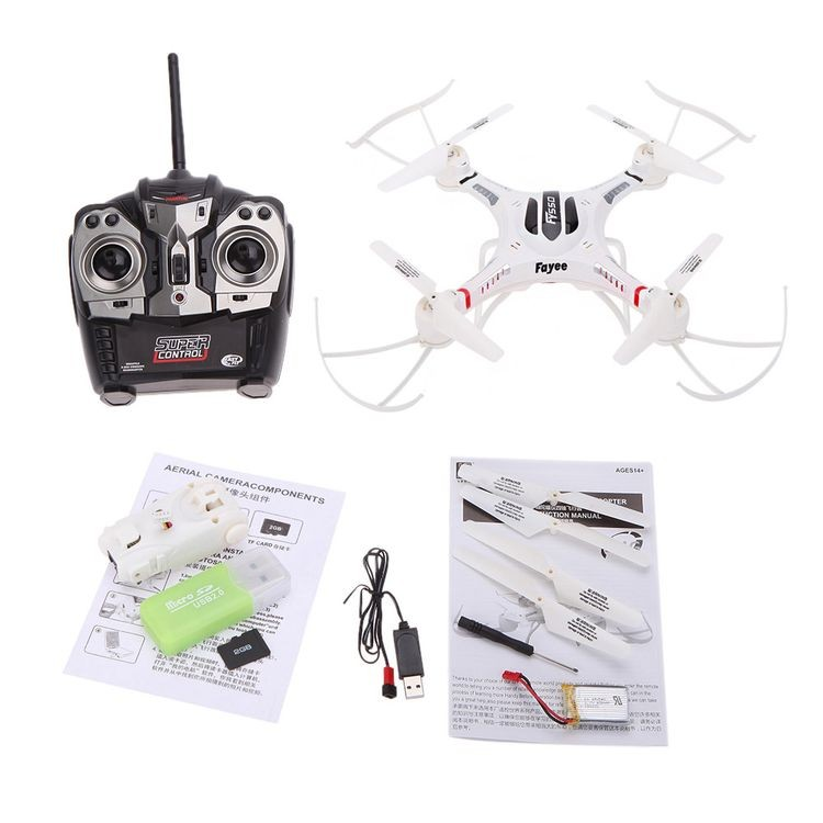 1420500-2.4G 6-Axis Gyro RC Quadcopter UFO Drone with 2.0MP HD Camera-2_06.JPG
