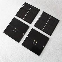 Custom made 73*67mm 2v 0.5w mini poly/mono silicon solar panels