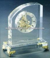 Noble Crystal Table Clock Souvenir Gift