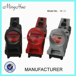 Minghao HD-13 Multi-Reticle Sight RED DOT Open Riflescope Red Dot Sight Red/Green Dot Sight Scope