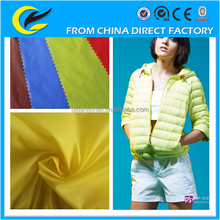 Wholesale 100% polyester fabric , shiny jacket fabric / polyester fabric with best price