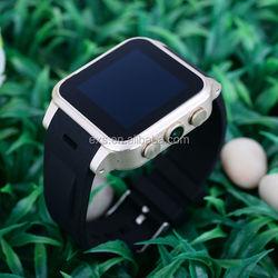 wearable dual sim waterproof android watch 4GB ROM flash, waterproff IP68 for smart watch