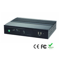 Fanless embedded pc, IPC , Atom D2550, FX5653