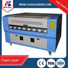 auto feeding double head laser machine FL-1390 cut leather/co2 leather laser cutting machines