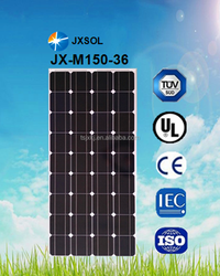Good quality 150W monocrystalline panel solar/ PV modules made in China with low price