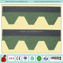 3 Tab Colorful Asphalt Shingles Roofing (Chateau Green)
