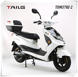 tailg 800w white 60v steel electric scooter moped for sales