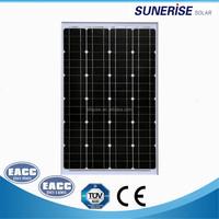black 36cells 18v mono solar pv module 60watt photovoltaic panel price