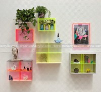 New acrylic wall showcase furniture, Wall Mounted Acrylic gift display box case, Lucite Decoration Storage Wall Box