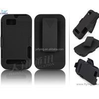 rubber surface hard plastic case for Motorola xt320 defy mini