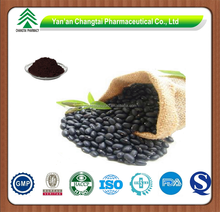 GMP factory supply high quality Black bean extract powder Anthocyanin