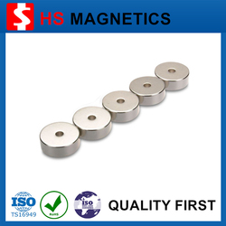 China supplier large magnets for sale Neodymium n35 Ring magnets