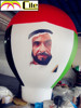 CILE 2015 Newest colorful Customized Photo Printing Inflatable balloon model (Advertising,Promotions,Simulator,Event)