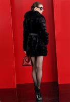 Женская одежда из кожи и замши faux