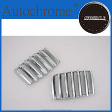 Newest 2015 hot products high quality car parts chrome front grille cover for BMW X5 E70
