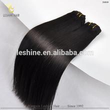 2015 Hot Sale !!! Most Popular Good Feedback Double Weft brazilian virgin hair fix hair