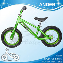 Ander aluminum light weight balance bicycle with colorful tyre