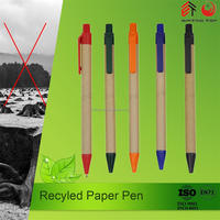 Environment protection material paper pen