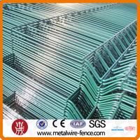 plastic coated wire mesh panel