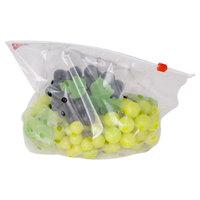 transparent packaging ziplock fruit bag for grape