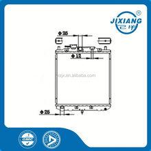 custom aluminum radiator /mechanical radiator /brazing radiator For Daihatsu CORE SIZE :350*318*16/26 OEM :16400-87267