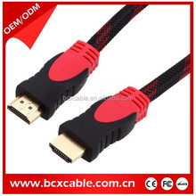 3D DVD PS3 HDTV XBOX LCD HD TV double color hdmi cable