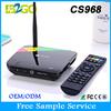 New product 2.0MP camera CS968 quad core rk3188 bluetooth turkish channels google android tv box