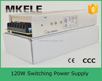 S-120-24 single output 120w 24v dc power switch smps 24v 120w switching power supply 220v 24v 5a smps